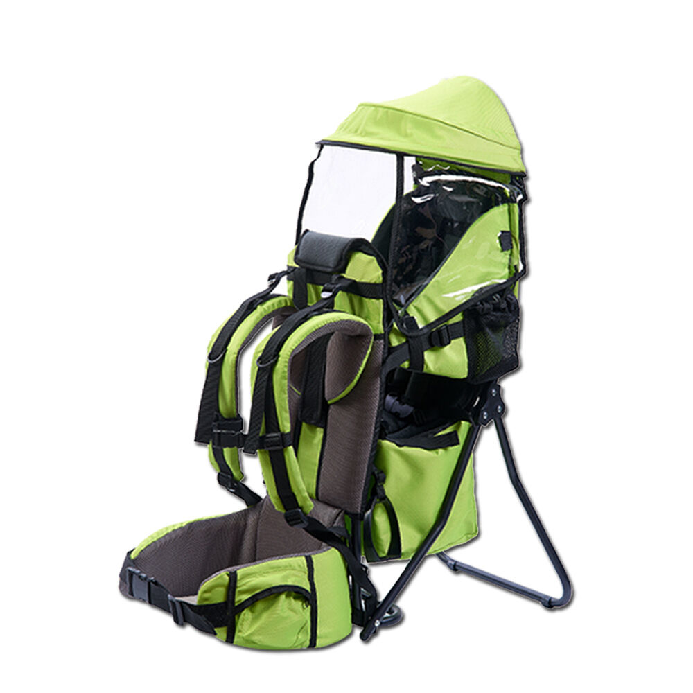Baby Hiking Backpack Child Kid Toddler Carrier W Stand