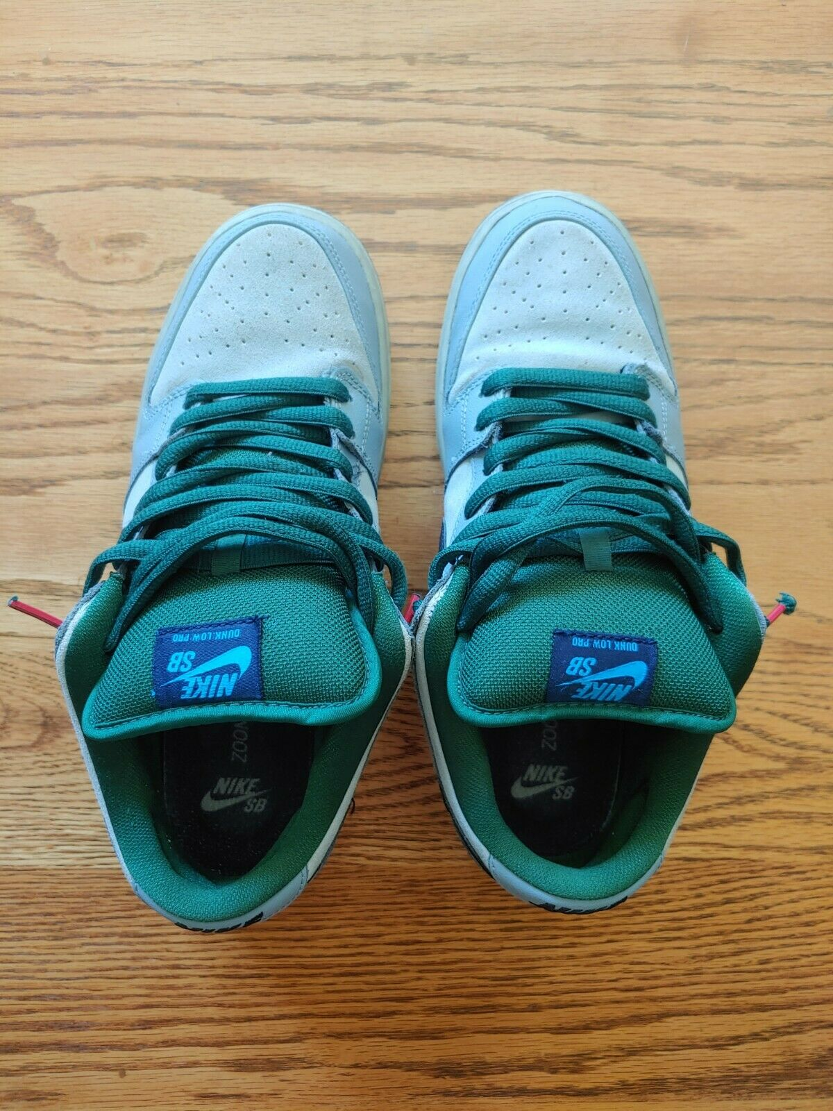 NIke SB Dunk Low Central Park Green