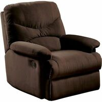 Recliner Chair Microfiber Living Room Furniture Reclining Home Seat