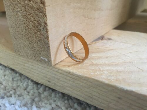 femme Gold ring homme bon cadeau