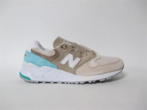 best authentic 7f697 cadb5 Details about New Balance 999 Made in USA Bone Sand Turq White Grey  Concepts Sz 9 M999CSS