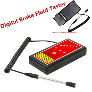 Fashion Style 2018 Car Brake Fluid Tester Pen 5 Led Car Automotive Electronic Accurate Oil Quality Check Digital Tester Liquid Diagnostic Tool Back To Search Resultsautomobiles & Motorcycles Auto Replacement Parts