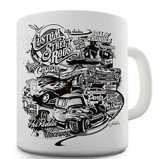 Twisted Envy Hot Rod Cars Ceramic Mug