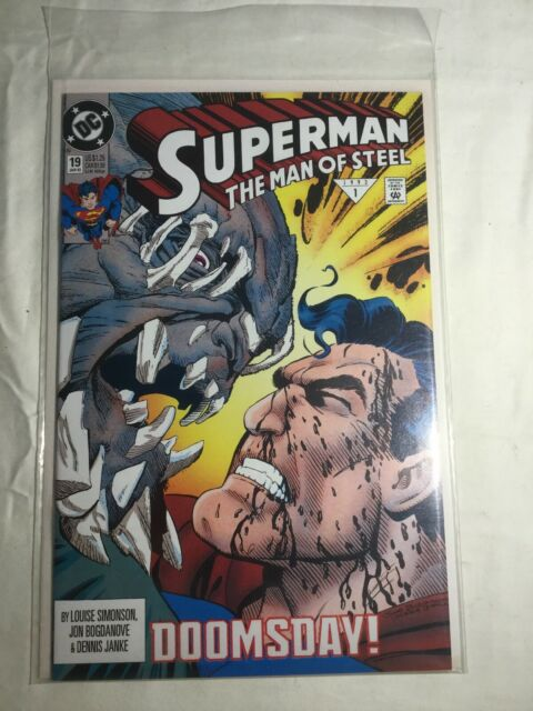 Superman: The Man of Steel #19 (Jan 1993, DC)