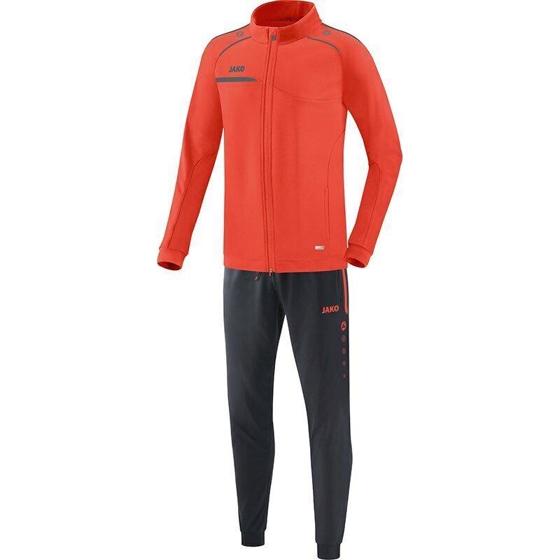 JAKO Herren Trainingsanzug Jogginganzug Prestige flame grau S M L XL XXL 3XL