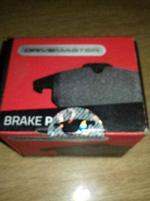 Wear Warning Drivemaster DMP060 Rear Brake Pads Fits Lucas System Excl