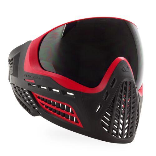 Mask Red Smoke Virtue VIO Ascend Thermal Paintball Goggle