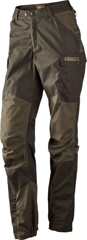 Härkila Ladies Hunting Trousers Dagny - Shadow Brown Hunting Green - 110115152
