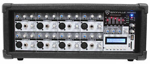 Rockville-RPM85-2400w-Powered-8-Channel-Mixer-USB-5-Band-EQ-Effects-Bluetooth