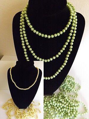 Genossenschaft 12 X Glas Perlenkette Verschiedene Farben Perlen Kette