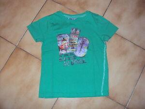 T-shirt-MC-vert-NKY-pour-garcon-en-8-ans-en-TBE