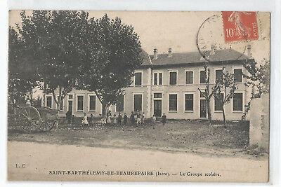 38 Saint Barthelemy De Beaurepaire , Le Groupe Scolaire