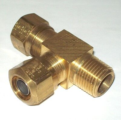 2PC 1//2 Brass Compression Fittings
