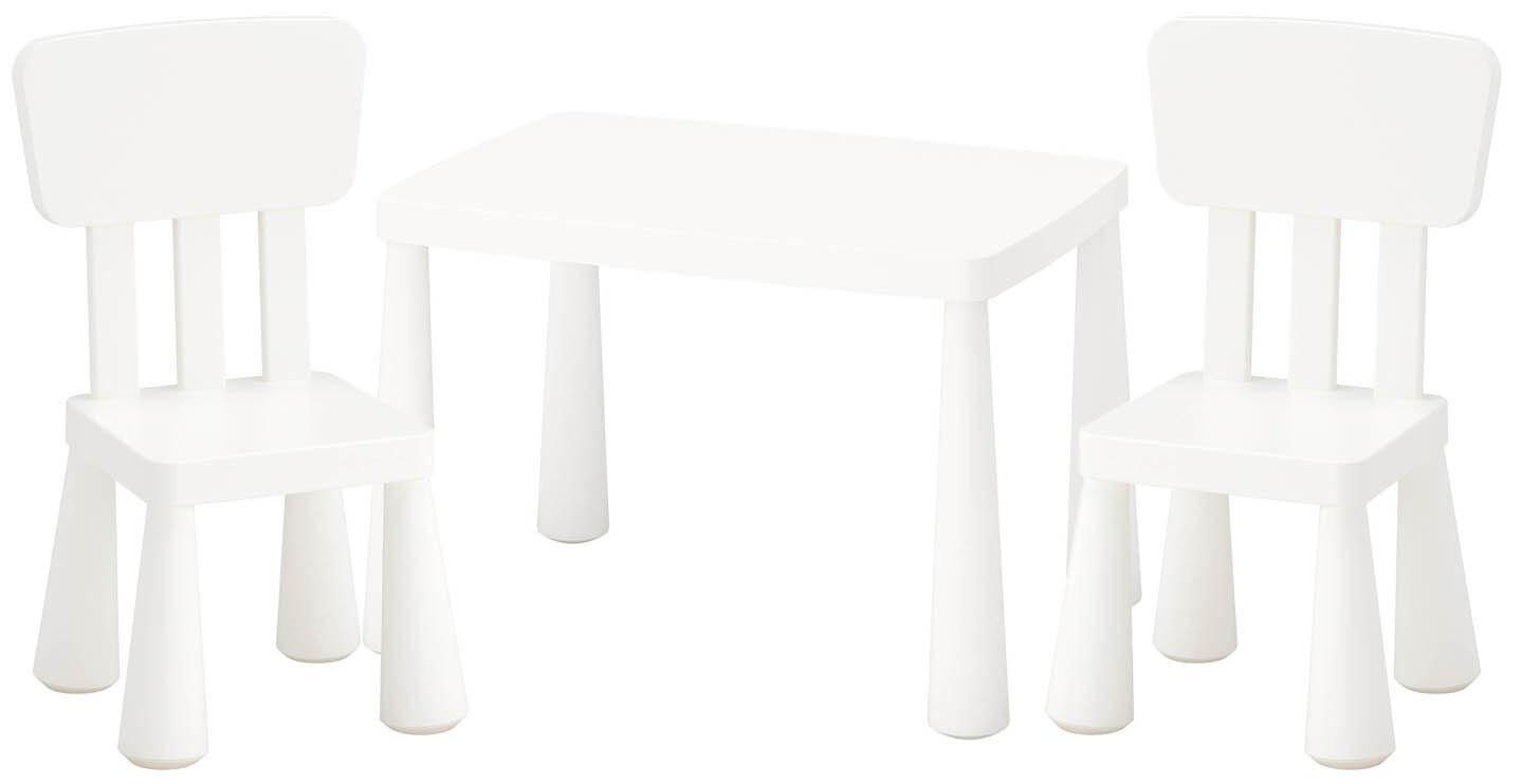 Ikea Mammut Kindersitzgruppe Kindertisch 2 Kinderstühle