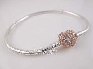 pandora bracelet rose gold
