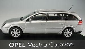 Schuco-OPEL-VECTRA-C-CARAVAN-argento-metallizzato-STATION-WAGON-1-43-Nuovo-modello-di-auto