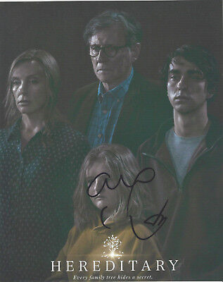 Alex Wolff Signed Authentic 'hereditary' 8x10 Photo C W/coa Actor Patriots Day Convenient To Cook Photographs Autographs-original