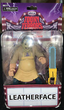"Leatherface Texas Chainsaw Massacre Toony Terrors 6"" Figure Series 2 NECA 2019"