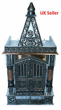 "Oxidised Copper Puja Pooja Mandir Hindu Temple 12""W X 9""D X 23""H_UK Seller"