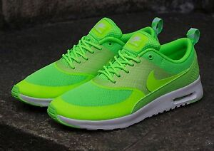 172597c84025 Nike Air Max Thea Womens Shoes Size 6.5 599409-300 FLASH LIME ...