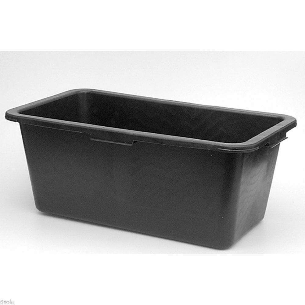 Faulks 80L Multi Tub Horse Feed Rectangular Bucket Equine Stable Water Trough