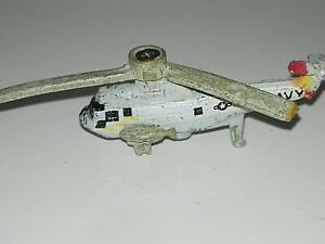 Micro Machines Galoob 1987 Helicopter SH-3H Sea King - mini , aircraft