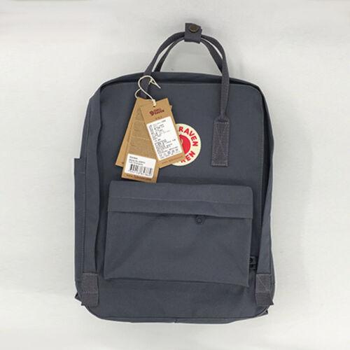 7L//16L//20L Unisex Backpack Fjallraven Kanken Travel Shoulder School Bags UK 2020