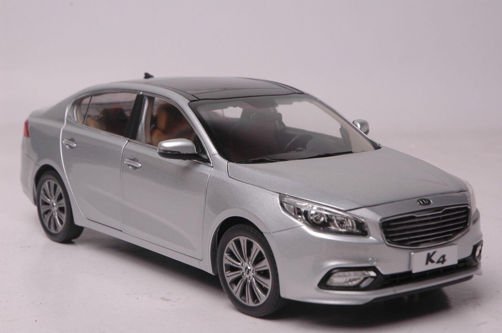 promociones KIA K4 2014 coche modelo en escala escala escala 1 18 Plata  de moda