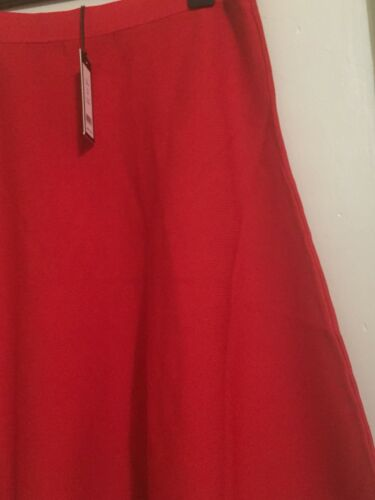 Gonna Nwt taglia Giulietta testurizzata L line Couture 130 rossa A Romeo ppZ0X