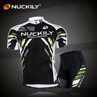 Men Cycling Bike Short Sleeve Clothing Set Bicycle Wear Suit Jersey Shorts M-XXL