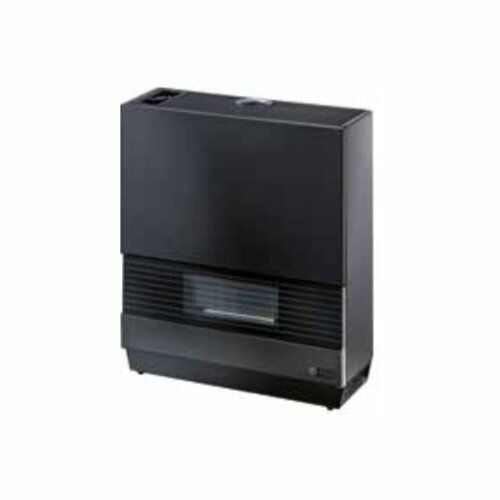 Splendid SG 60 HE Noir Poêle gaz méthane 5,1 kW adapte pour chambres 80 m2
