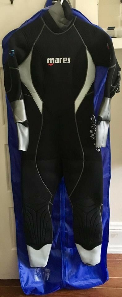 MARES Semi-Dry 6.5mm Women's Isotherm Wetsuit Size 8 (Used once )