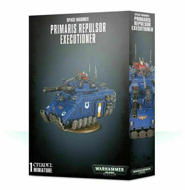 Space Marines Primaris Repulsor Executioner - Warhammer 40k - Brand New! 48-55