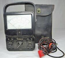 Vintage Simpson 260 Series 3 Analog Vom Volt Ohm Milliammeter