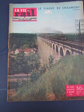 vie du rail 1958 636 MONACO LA TURBIE CHAUMONT FAIENCERIE GIEN ACHILLE ZAVATTA