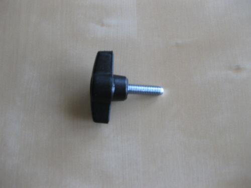 6 X Wing knobs M5 x 20mm thumbscrew nut bolt electronics audio lighting  drill
