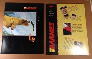 1995 Barnes Ammunition Catalog - SUG. LIST & DEALER COST ...