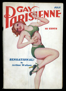 Spicy-Pulp-Gay-Parisienne-Enoch-Bolles-Magazine-July-1937-Complete-Clean-Edition