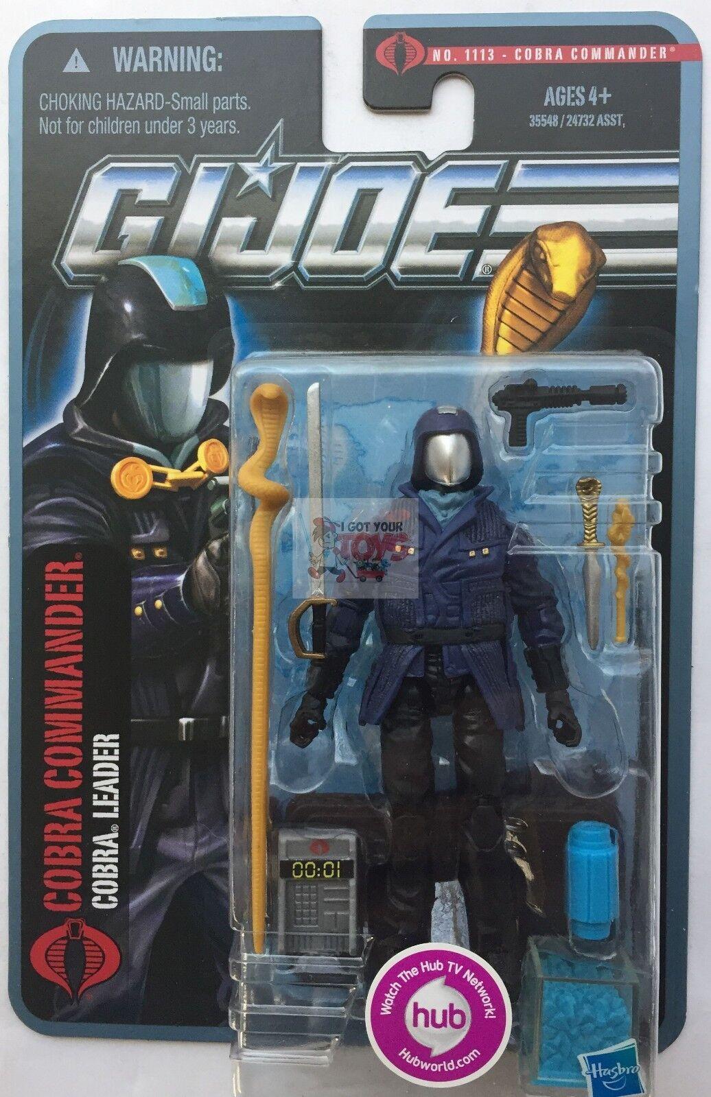 COBRA COMMANDER ARCTIC GI JOE The Pursuit Of Cobra 2010 3.75  Inch Action FIGURE