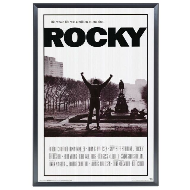 "SnapeZo Movie Poster Frame 30x40 Inches Black 1.7/"" Aluminum Profile,"