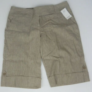 Charlotte Russe Women's Brown Bermuda Shorts Size 9 NWT! (*S018)