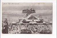 L@@K  North Pier Blackpool 1900's ? Postcard