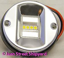 LED STERN LIGHT 12V VERY BRIGHT 304 STAINLESS 50-02381 BOAT NAVIGATION LIGHT