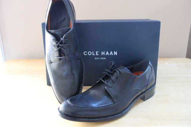 b3f4d4011a0 Cole Haan Lenox Hill Split Oxfords Mens Black Leather Size11.5 C11627