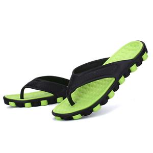 e04432935711 Summer Men s Thong Sandals Shoes Home Outdoor Beach Sport Flip Flops ...