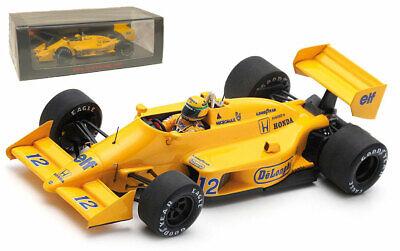 Ayrton Senna Lotus 99T #12 Winner Monaco GP Formel 1 1987 1:43 Altaya