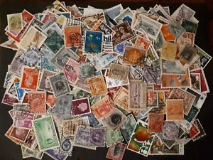 Lot-of-1000-Worldwide-Used-Stamps-no-duplication