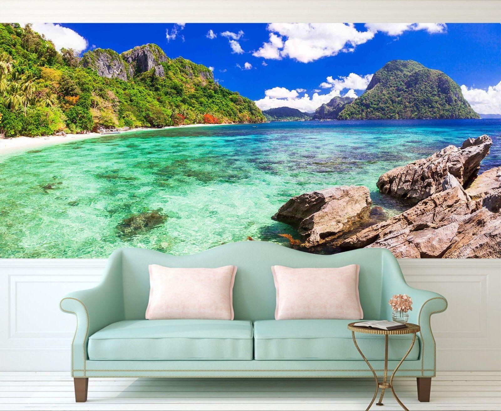 3D Reef Sea Nature 713 Wallpaper Mural Wall Print Wall Wallpaper Murals US Lemon