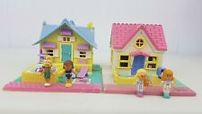 polly pocket  Summer house , cozy cottage 100% Complete 1993 Excellent condition