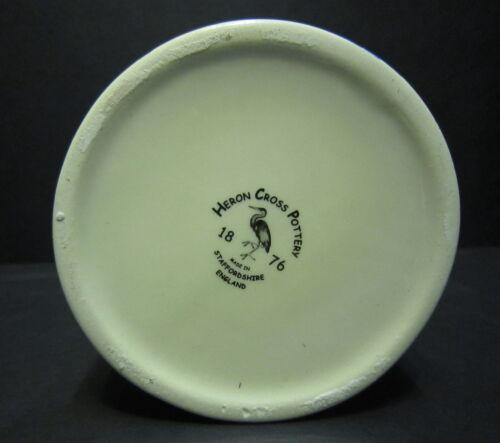 Chintz English 2 Pint Milk Jug Heron Cross Pottery SUMMER MEADOW black B//G